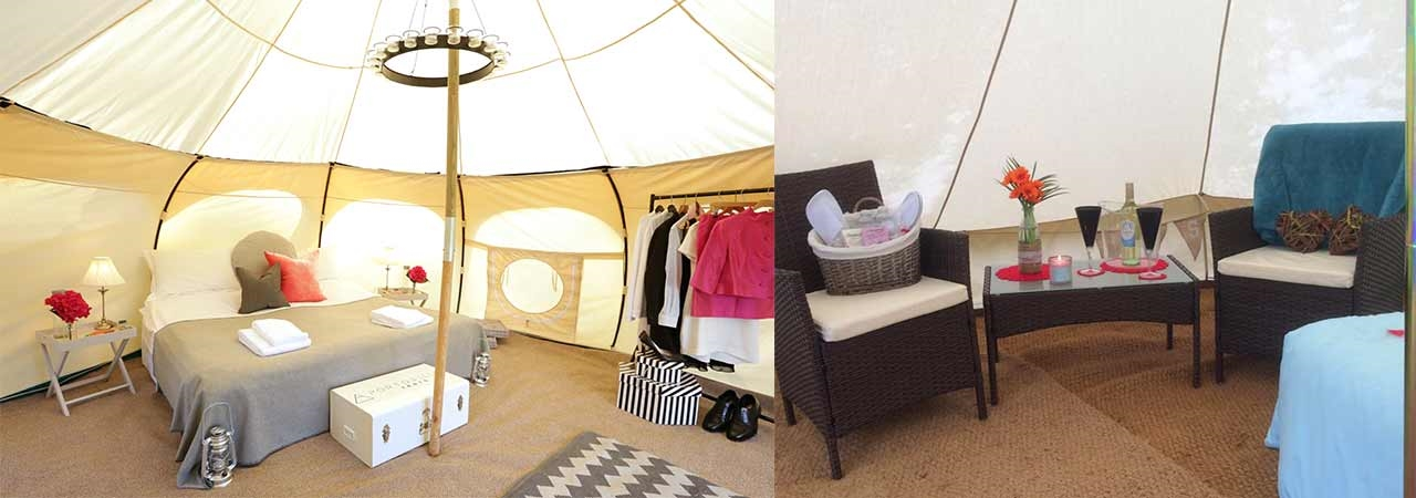 Wedding Bell Tent Hire in St Davids, Haverfordwest, Fishguard, Cardigan, Tenby across Pembrokeshire