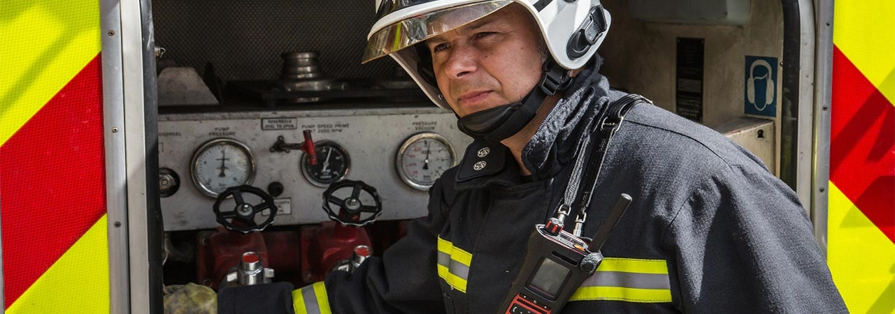 Hampshire Fire and Rescue Service MTP8000Ex 2 Way Radios