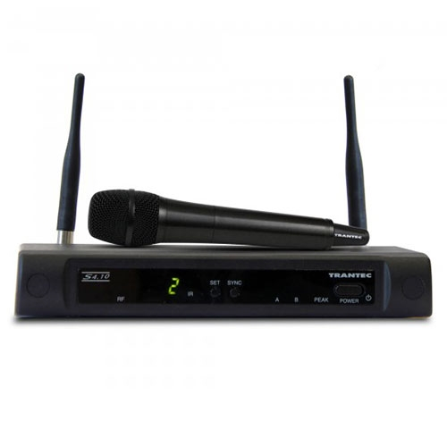Trantec S4.10 UHF Handheld Wireless Microphone Channel 70