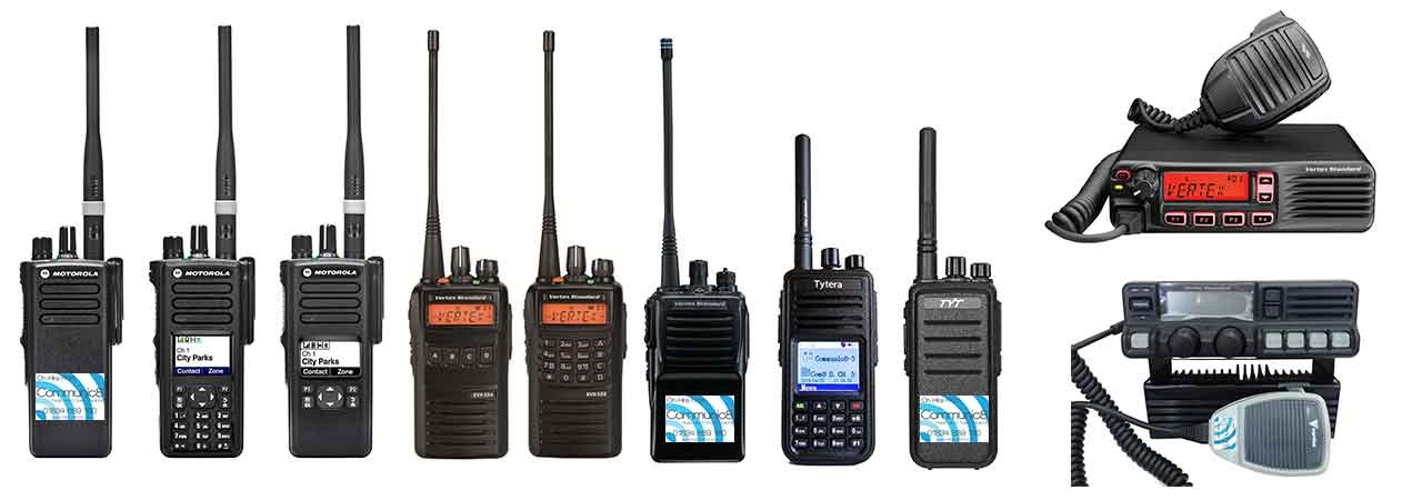 Walkie Talkie Hire UK - Digital Walkie Talkie Buy UK