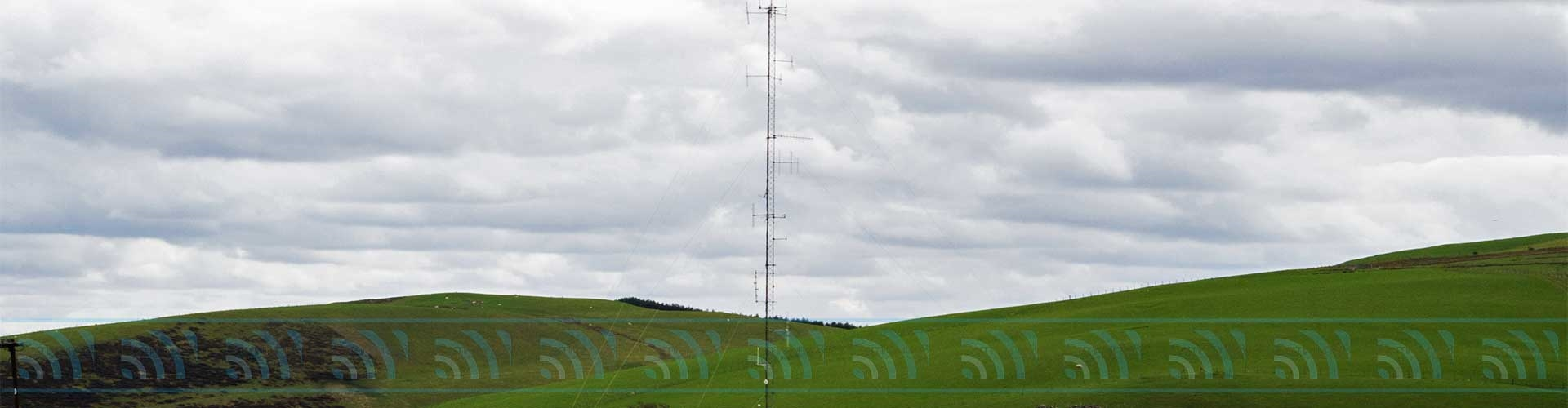 radio antenna masts for hire across Wales including towable mobile towers