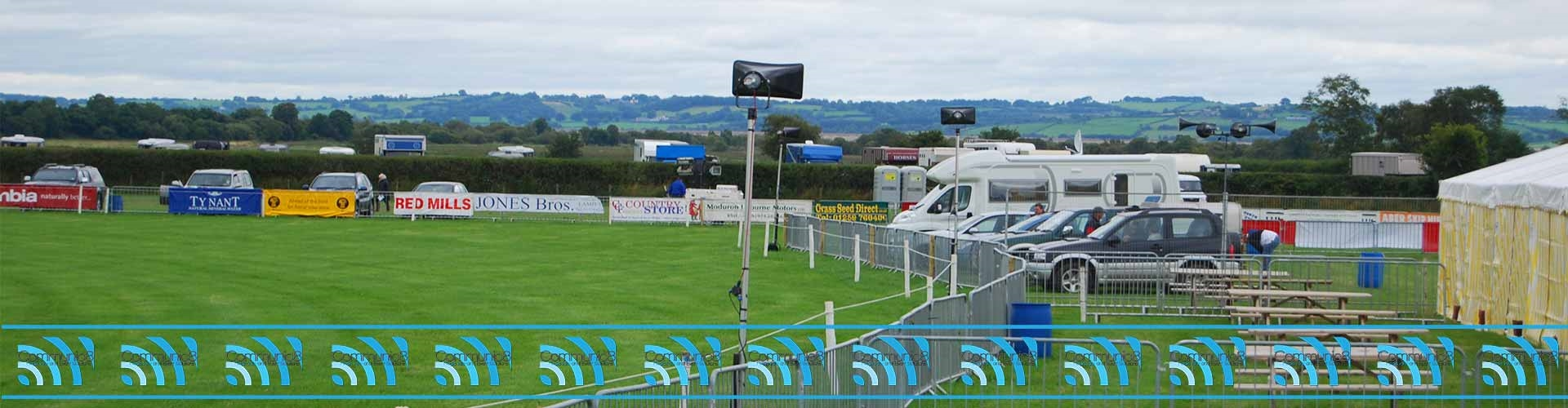 Speaker Equipment Hire - Outdoor Loudspeaker Hire South Wales