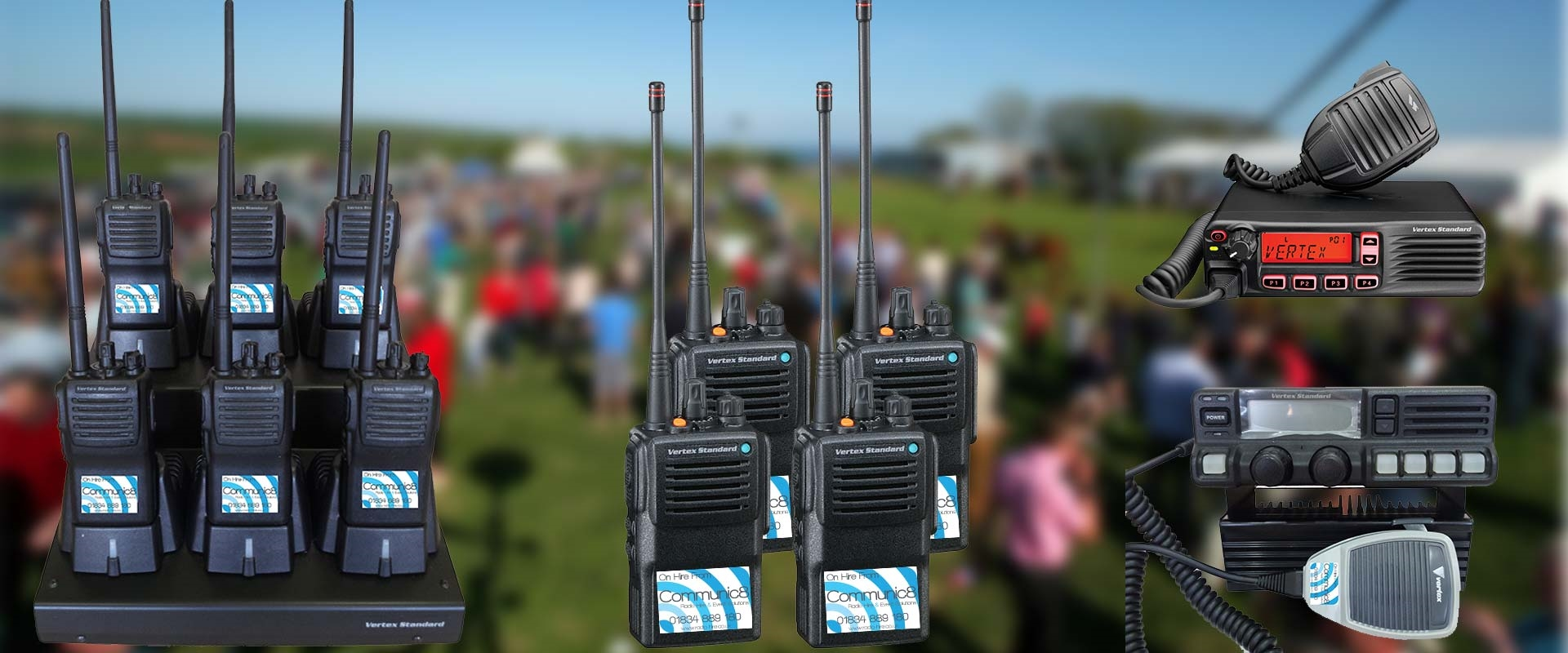 Radio Hire South Wales, Carmarthenshire
