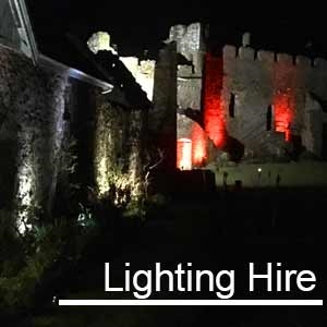 3 facts about our Outdoor Lighting Hire that will impress