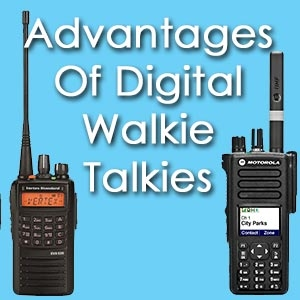 Advantages of Digital Walkie Talkies - Motorola and Vertex Standard