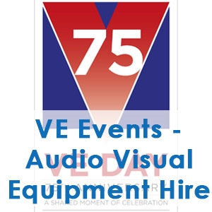 VE Day 2020 - Audio Visual equipment Hire from Communic8