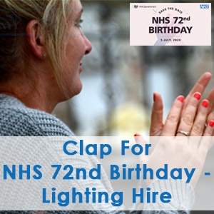Clap For NHS 72nd Birthday 2020, Communic8 Hire. Image Clint Budd