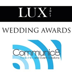 Communic8 nominated in 2017 Lux Wedding Awards