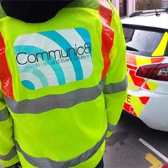 Traffic Management Clothing on an event traffic management job in Pembrokeshire
