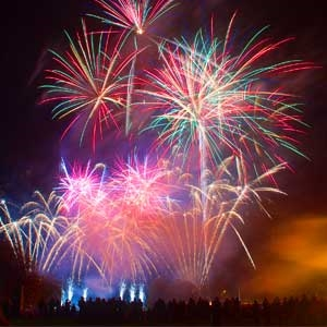 Firework Event Radio and Sound System Hire