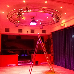 Hotel Dancefloor Lighting Installation In Pembrokeshire