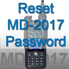 how to bypass TYT MD-2017 Power On Password