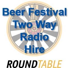 RoundTable 2 Way Radios for the Beer Festival in Narberth