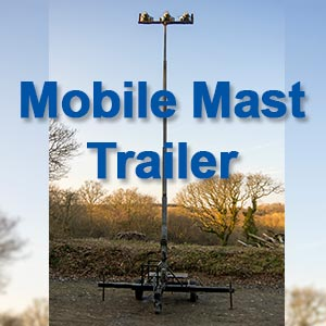 New Mobile Mast Trailer For hire