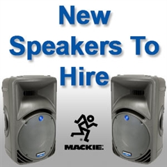 New Speaker Equipment to Hire in West Wales - Communic8