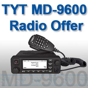 TYT MD-9600 Digital Mobile Radio, UK Offer. Retevis RT-90