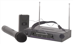 QTX VHN2 Wireless Microphone